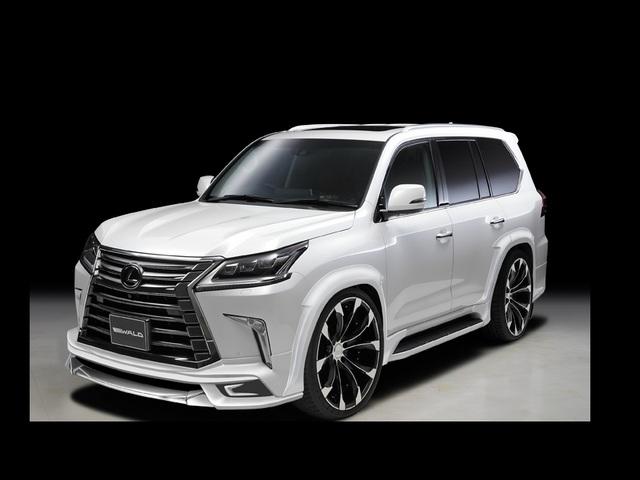 Toyota Large Suv >> レクサス LX | ヴァルド(WALD)(WALD) ジャレット(J11-C) 22インチ(10.0J) ブラック ...